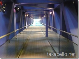 長い渡り廊下