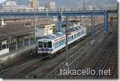 新山口駅でのローカル線
