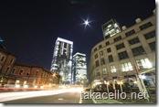 東京駅からの眺め
