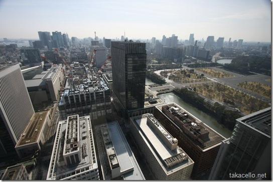 東京丸ビルからの眺め