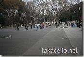 上野公園で踊るロカビリーかぶれ達