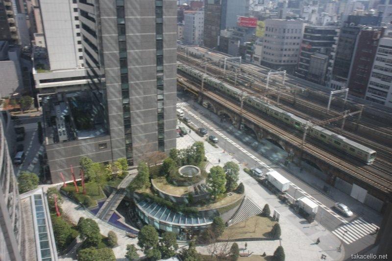 第一ホテル東京からの眺め