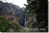 九重夢吊橋の滝