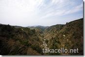 九重夢吊橋からの眺め