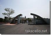 近代的な鹿児島県鹿屋市細山田小学校