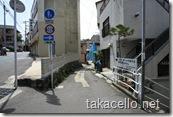 長崎市内の住宅街
