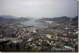 長崎の眺め