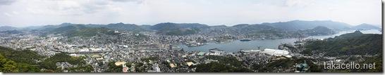 長崎のパノラマ