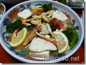 梅松鶴の晩ご飯