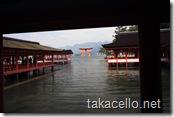 厳島神社と鳥居