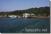 宮島のフェリー乗り場