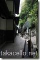 千光寺の裏道