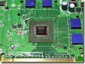 VGAチップの拡大写真