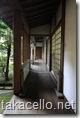 龍安寺裏の回廊