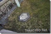 高台寺・昔の建物の柱の跡?