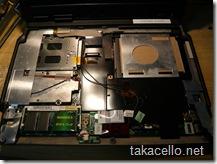 SSDに段ボールのスペーサーを入れてみました