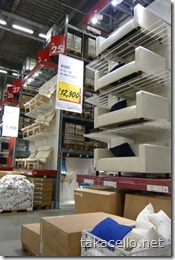 IKEA鶴浜店内部