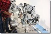 日産エンジンのカットモデル