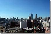 第一ホテル東京の客室からの眺め