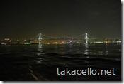 東京レインボーブリッジ:水上バスからの眺め