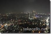 東京タワーから六本木ヒルズを望む