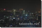 東京タワーからレインボーブリッジを望む