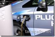 電気自動車プリウス