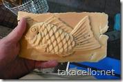 上野で鯛焼き