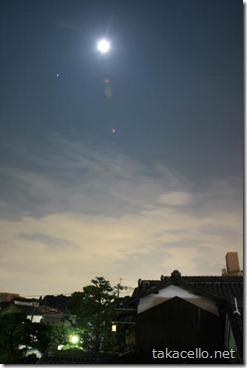 お月見 20100922