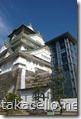 大阪城とエレベーター