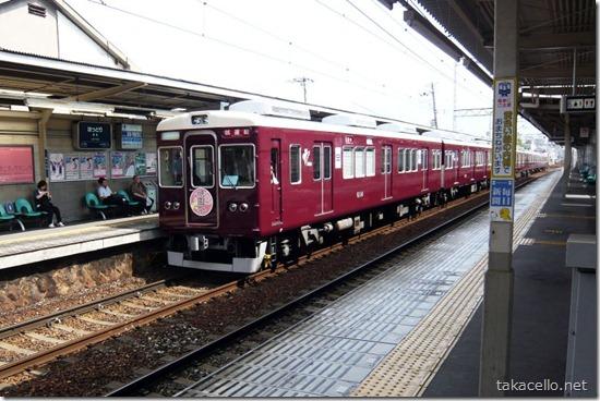 阪急電鉄の試運転車両