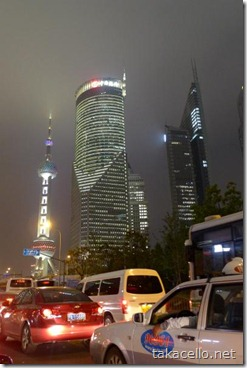 浦東新区の夜景