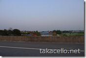 高速道からの景色