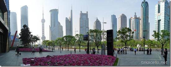 上海環球金融中心からのパノラマ