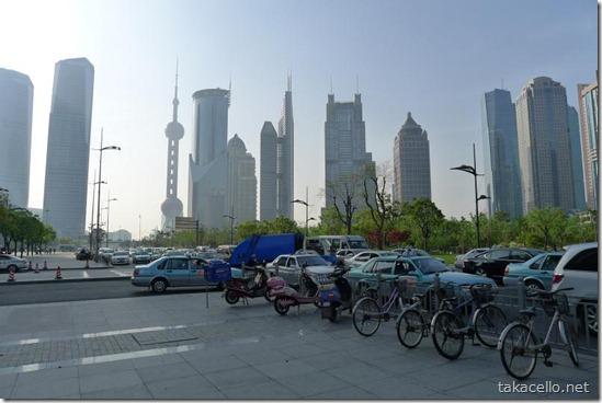 上海環球金融中心からの眺め