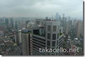 ロンジモント上海からの眺め