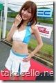 レースクィーンの兎澤香さん
