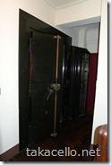 金庫室のドア