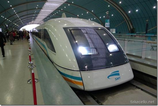 お約束の上海リニア