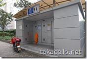 浦東新区の公衆トイレ