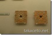 古銭の鋳造用の鋳型