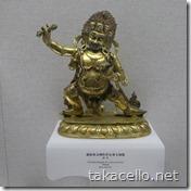 チベットの小型の仏像