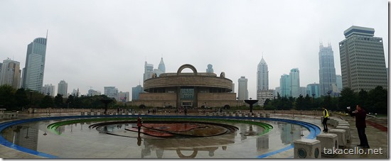 上海博物館のパノラマ