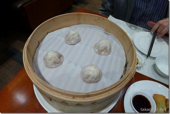 小籠包:鼎泰豐 上海环球店
