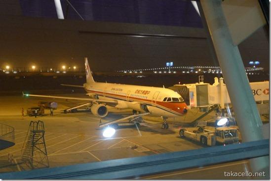 浦東国際空港:中国東方航空
