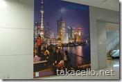 関空内での上海旅行の宣伝ポスター