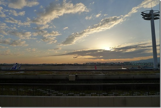 伊丹空港からの眺め