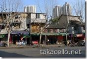 上海市内の一般的な住宅街