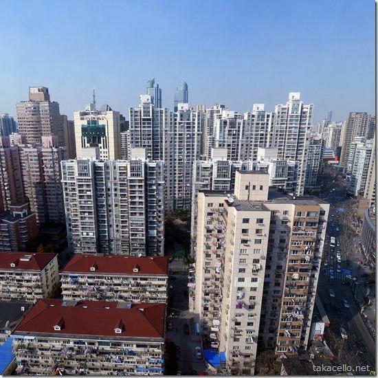 申峰大厦からの見晴らし