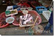 上海の青空市場